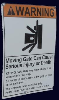 Automatic Gates Personal Injury Amp Damage Claims